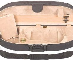 Bobelock Half Moon 1047 Black/Beige 4/4 Violin Case